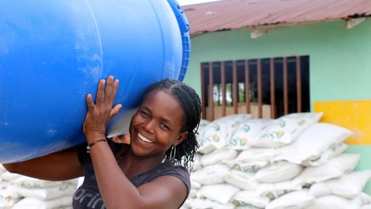 Colombia: ayuda para un millar de personas que sufren escasez de alimentos en Nariño
