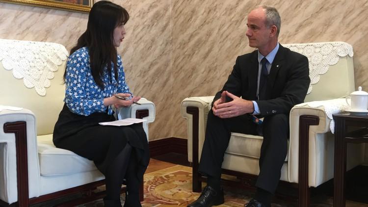 红十字国际委员会与中国政府共同致力于维护战火中的人道
