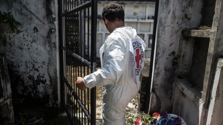 Colômbia: perito forense do CICV busca desaparecidos