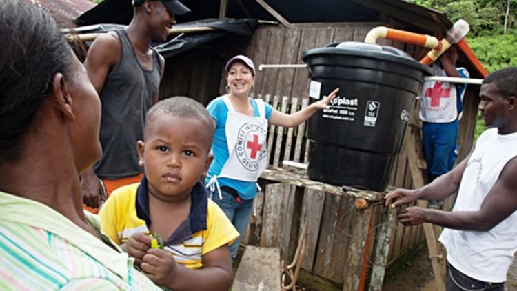 """Colombia: """"Cuando llegaron los tanques de agua, todo el pueblo se puso de fiesta"""""""