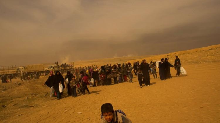 Perspectiva humanitaria sobre migración y desplazamiento (en inglés)