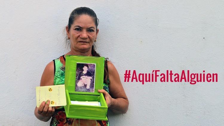 Colombia: más de medio millón de personas afectadas por el fenómeno de la desaparición