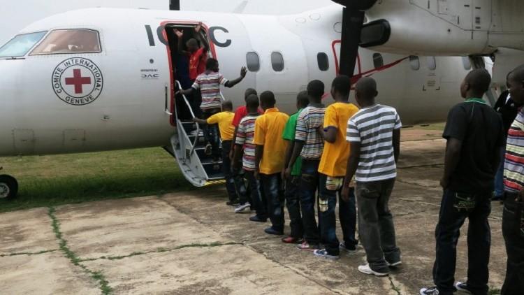 República Democrática del Congo: 152 niños desmovilizados se reencuentran con sus familiares