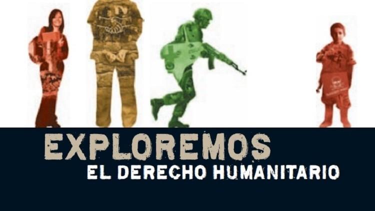 Exploremos el Derecho Humanitario: folleto - reseña
