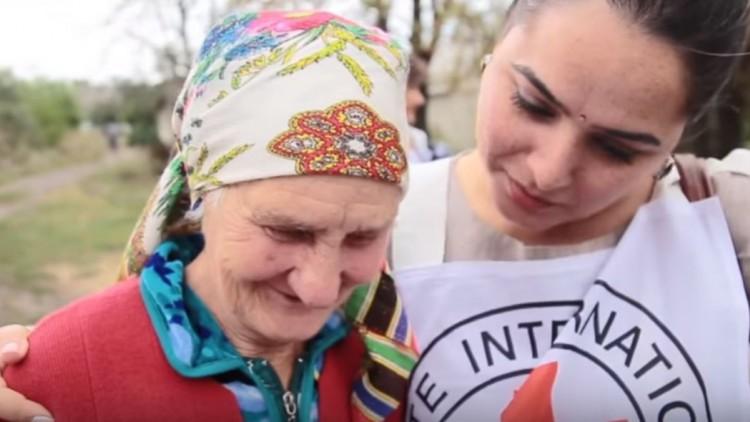 Ukraine : Farhana, la psychologue qui aide les gens à s'en sortir