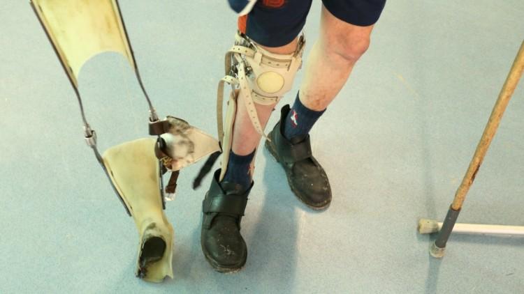 Detenidos con discapacidad, a paso digno