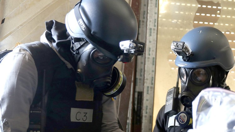 Chemical weapons use: an unacceptable repeat of history that demands attention