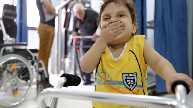 Gaza : le rêve du petit Owaïs s'est réalisé