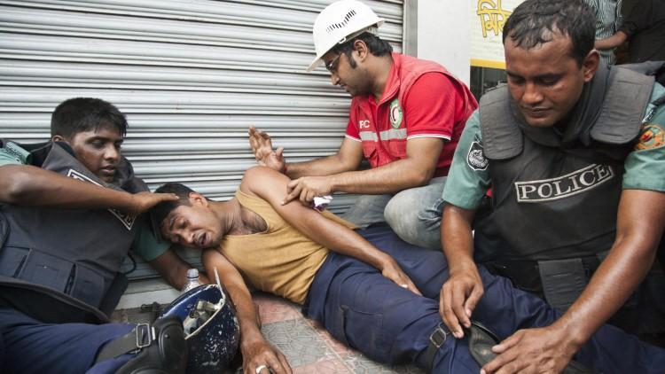 Los primeros auxilios salvan vidas