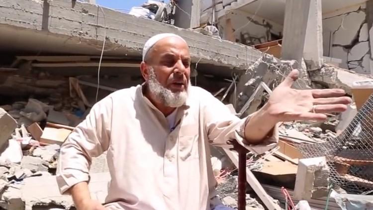 Gaza: recorrer las ruinas de lo que alguna vez fue un hogar