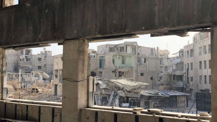 Em meio à destruição em Ghouta Oriental, fotos que dizem muito