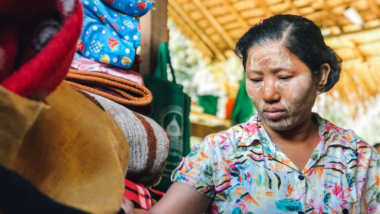 Myanmar: The mother who challenges fear every day