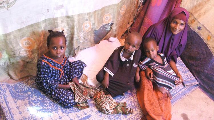 Somalie : la famille de Fatuma échappe à la faim