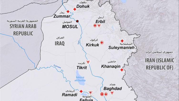 العراق: ما يصل إلى مليون شخص قد يضطرون إلى الفرار من منازلهم مع احتدام القتال