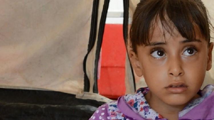 Irak: discapacitada y desplazada