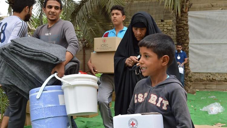 Iraque: CICV intensifica atividades para ajudar a mais de 1,5 milhão de pessoas