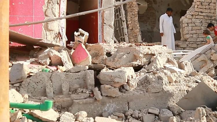Iraque: voltar para casa na cidade destruída de Ramadi