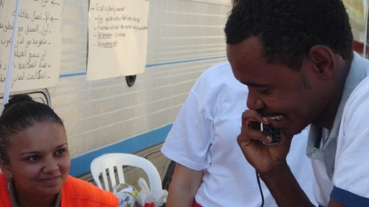 França / Itália: Cruz Vermelha restabelece laços familiares entre migrantes