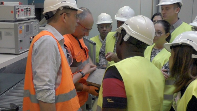 LafargeHolcim: From corporate donation to construction skills development for ICRC engineers