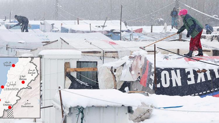 ICRC response to harsh winter conditions in Lebanon