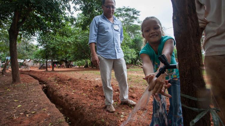 """Paraguay: """"El agua es primordial, si la tenemos, podemos avanzar"""""""