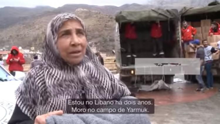Líbano: refugiados sírios sofrem inverno longe de casa