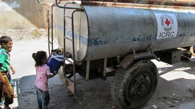 La guerre amplifie jusqu'au point de rupture le problème de l'eau au Proche et Moyen-Orient, relève un rapport du CICR