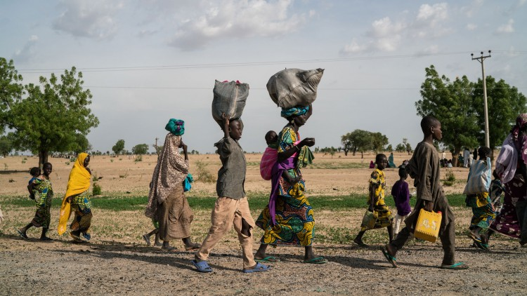Critical food shortage for those fleeing conflict in North East Nigeria