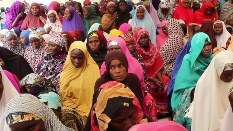 Viúvas do conflito na Nigéria