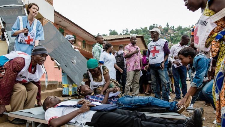 Chirurgie de guerre en RDC: comment trier les blessés dans l'urgence