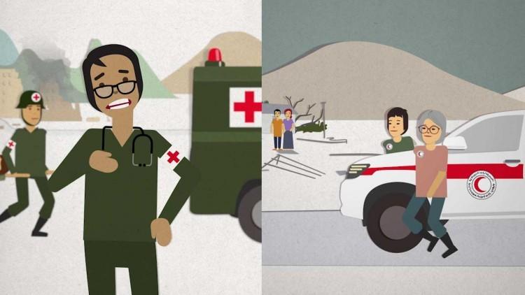 Cruz vermelha, crescente vermelho e cristal vermelho. O que significam? Numa palavra: proteção