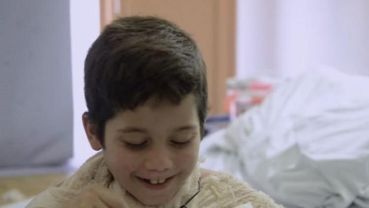 """""""Quero ser médico para ajudar outras crianças como eu"""""""