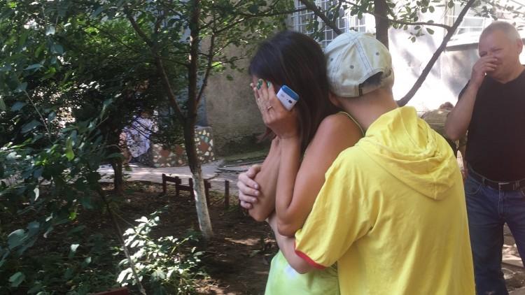 Украина: брат и сестра наконец встретились