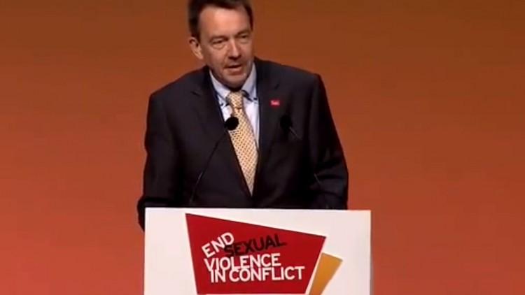 Presidente del CICR insta a actuar para poner fin a la violencia sexual en conflictos