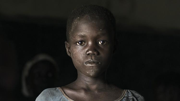 Proteção de crianças afetadas pelo conflito armado no Sudão do Sul
