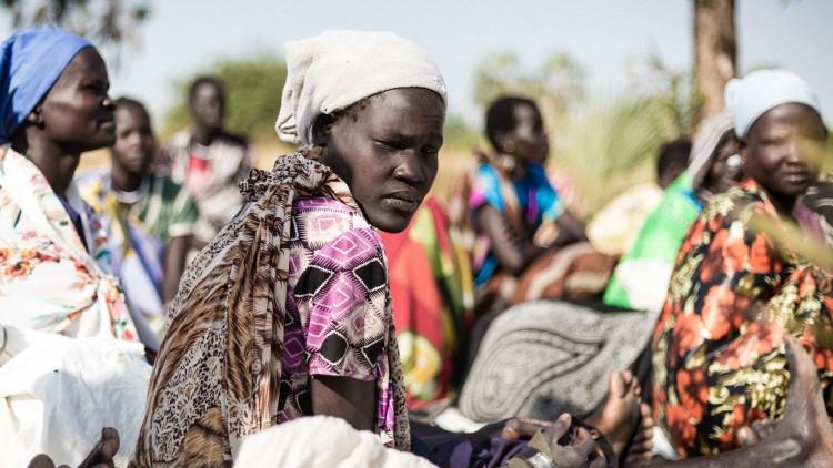 Sudán del Sur: miles de personas viven prácticamente sin agua, alimento ni techo