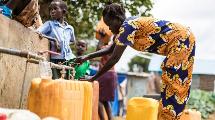 Clean drinking water, a vital lifeline for the people of South Sudan