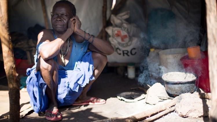 8 mil pessoas busca segurança em um povoado no Sudão do Sul