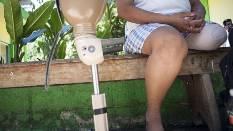Honduras: Natalia, caminando de nuevo hacia una vida mejor