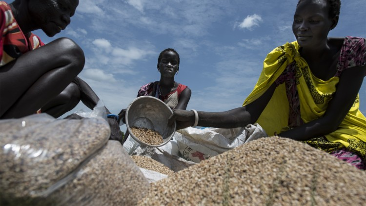 South Sudan: Corporate partners see our work in action