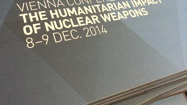 Nuclear weapons: create conditions to make nuclear disarmament possible
