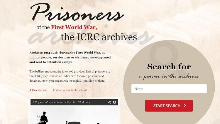 1914-1918年第一次世界大战:在我们的档案中寻找亲属