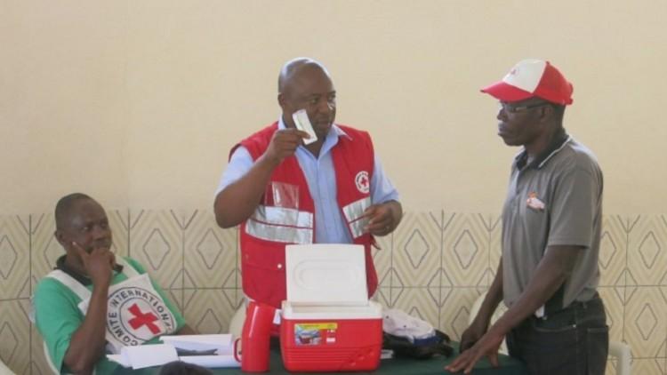 Zimbábue: fortalecimento da capacidade de resposta a emergências das Sociedades Nacionais