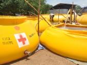 甘贝拉州,伊坦的水处理点为库莱营地的南苏丹难民提供洁净水。