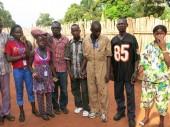 Arrivée à Bangassou, les enfants réunifiés. CC BY-NC-ND/ICRC/Innocent Bangalo