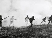 World War I, World War I, soldiers during a gas attack. CC BY-NC-ND / ICRC