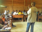 Village meetings get communities involved in efforts to protect children.