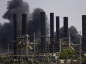 During the recent hostilities, the Gaza power plant (pictured) was shut down. M. Jiménez