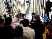 Des délégués du CICR durant la visite de la prison centrale de Sulaymaniya, au nord de l'Iraq. © ICRC / P. Krzysiek