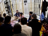 ICRC delegates visiting Sulaymaniya Central Prison, northern Iraq. /ICRC /P. Krzysiek